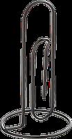 """Держатель для бумаг горизорнтальный """"СКРЕПКА"""" BUROMAX, металлический, черный, Buromax , BM.6281-01"""