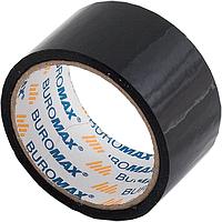 Клейкая лента упаковочная 48мм x 35м, черная BM.7007-01 Buromax (скотч)