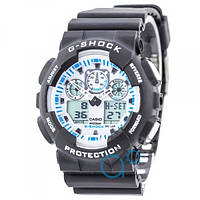 Casio G-Shock GA-100 Black-White 1006-0460 — в Категории
