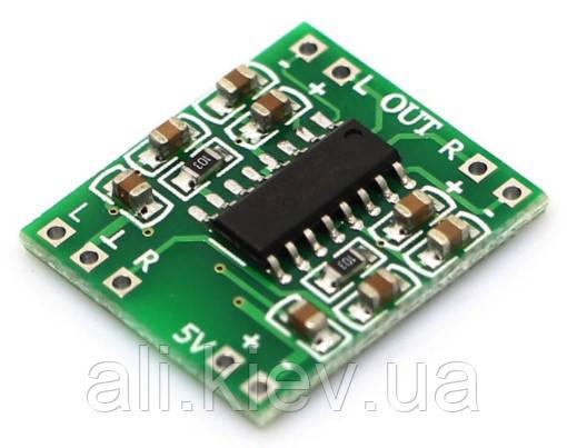 Усилитель D клас РАМ 8403 2*3 Вт  міни стерео модуль підсилювач аудіо плата PAM8403