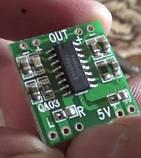 Усилитель D клас РАМ 8403 2*3 Вт  міни стерео модуль підсилювач аудіо плата PAM8403, фото 2