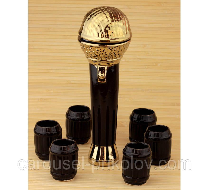 Коньячный набор Микрофон, 7 предметов