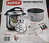 Мультиварка-скороварка ROTEX REPC53-B 5 л. 10 программ (900W), фото 5