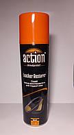 Спрей краска-востановитель для гладкой кожи ACTION черная 250 мл