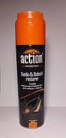 Спрей краска-востановитель для нубука и замши ACTION черная 250 мл