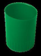 Стакан пласт. для письменных принадлежностей JOBMAX, зеленый BM.6351-04 Buromax (отеч.пр-во)