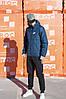 Мужская куртка Nike синяя, фото 3