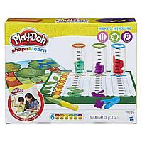 """Пластилин Play Doh  Игровой набор из серии изучай и лепи """"Сделай и измерь"""""""