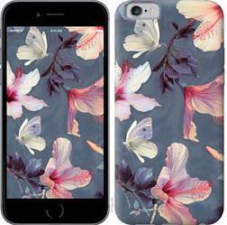 """Чехол на iPhone 6s Нарисованные цветы """"2714c-90-328"""""""