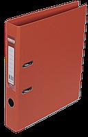 Папка-регистратор двухсторонняя ELITE А4 50 мм оранжевая Buromax