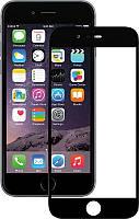 Защитное стекло Mocolo 2.5D Full Cover Tempered Glass iPhone 6/6s Plus Silk Black #I/S
