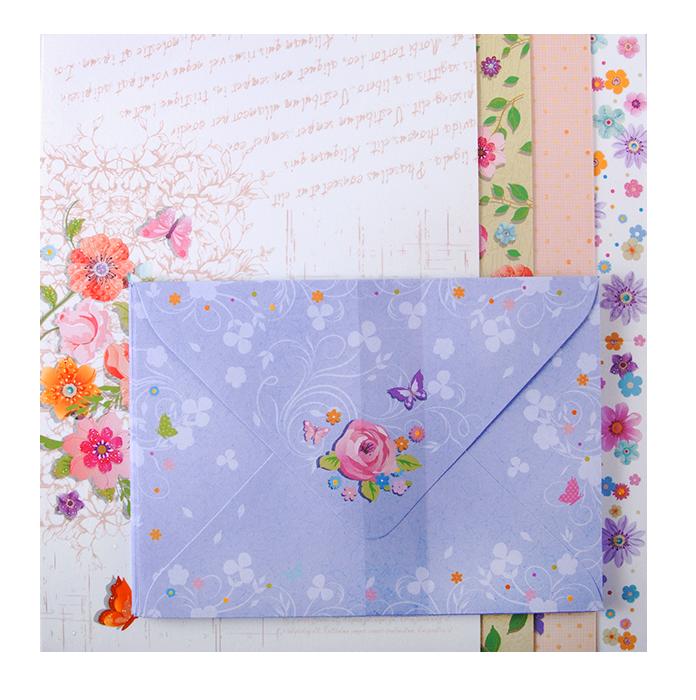 разноцветные конверты для открыток