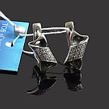 Серебряные серьги Конфетка, фото 2