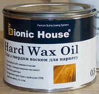 Олія для дерев'яної підлоги з твердим воском 1 л Hard Wax Oil  Bionic House