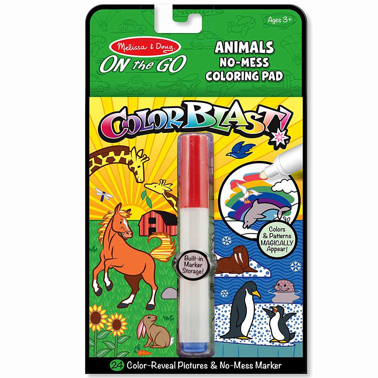 волшебная раскраска животные Md5502 Melissa Doug продажа цена в киеве раскраски от мы растем интернет магазин детских игрушек и товаров