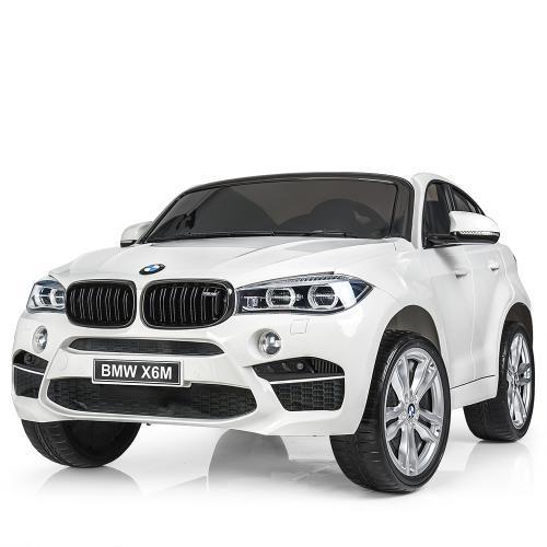 Детский электромобиль джип BMW X6 Bambi M JJ 2168-1 Белый