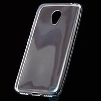 Чехол силиконовый Slim Meizu M3 прозрачный
