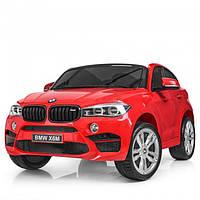Детский электромобиль джип BMW X6 Bambi JJ2168-3 Красный