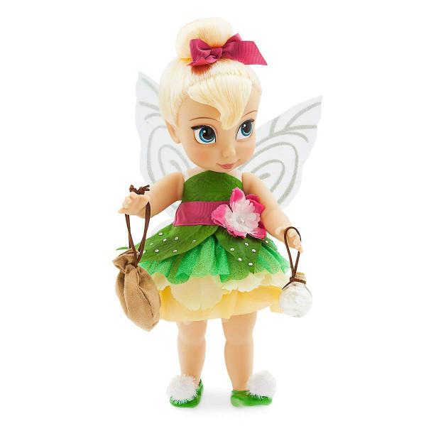 Disney Animators Кукла малышка Динь-Динь крылья светятся Collection Tinker Bell Doll