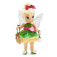 Disney Animators Кукла малышка Динь-Динь крылья светятся Collection Tinker Bell Doll, фото 1