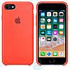 Чехол Apple Silicone Case iPhone 7, 8 светло-оранжевый 02