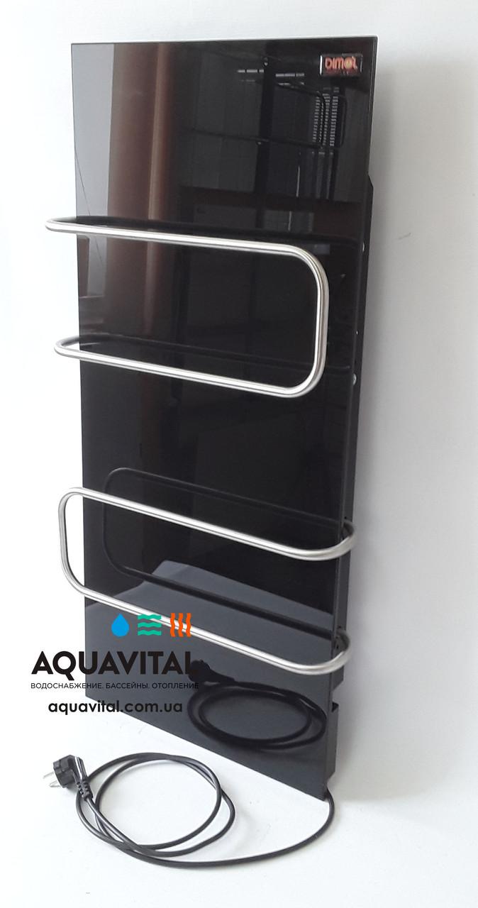 Полотенцесушитель стекло–керамический Dimol Standart 07 U (чёрный)