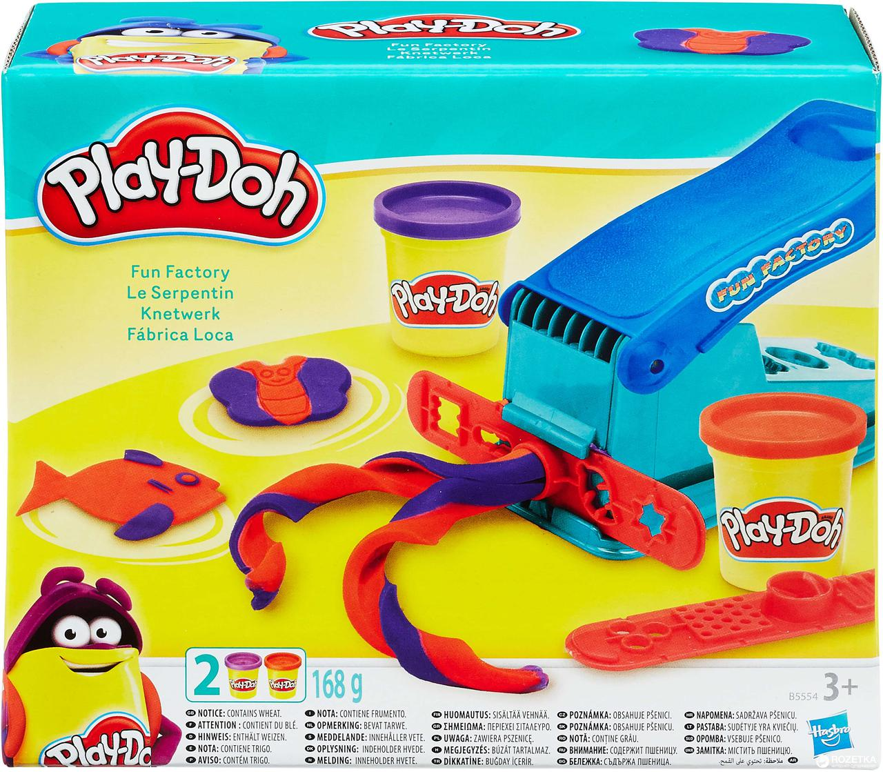 Play Doh Набор Веселая фабрика
