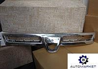 Решетка (Накладка) радиатора хром (ТИП DACIA) Renault Duster 2010-2015