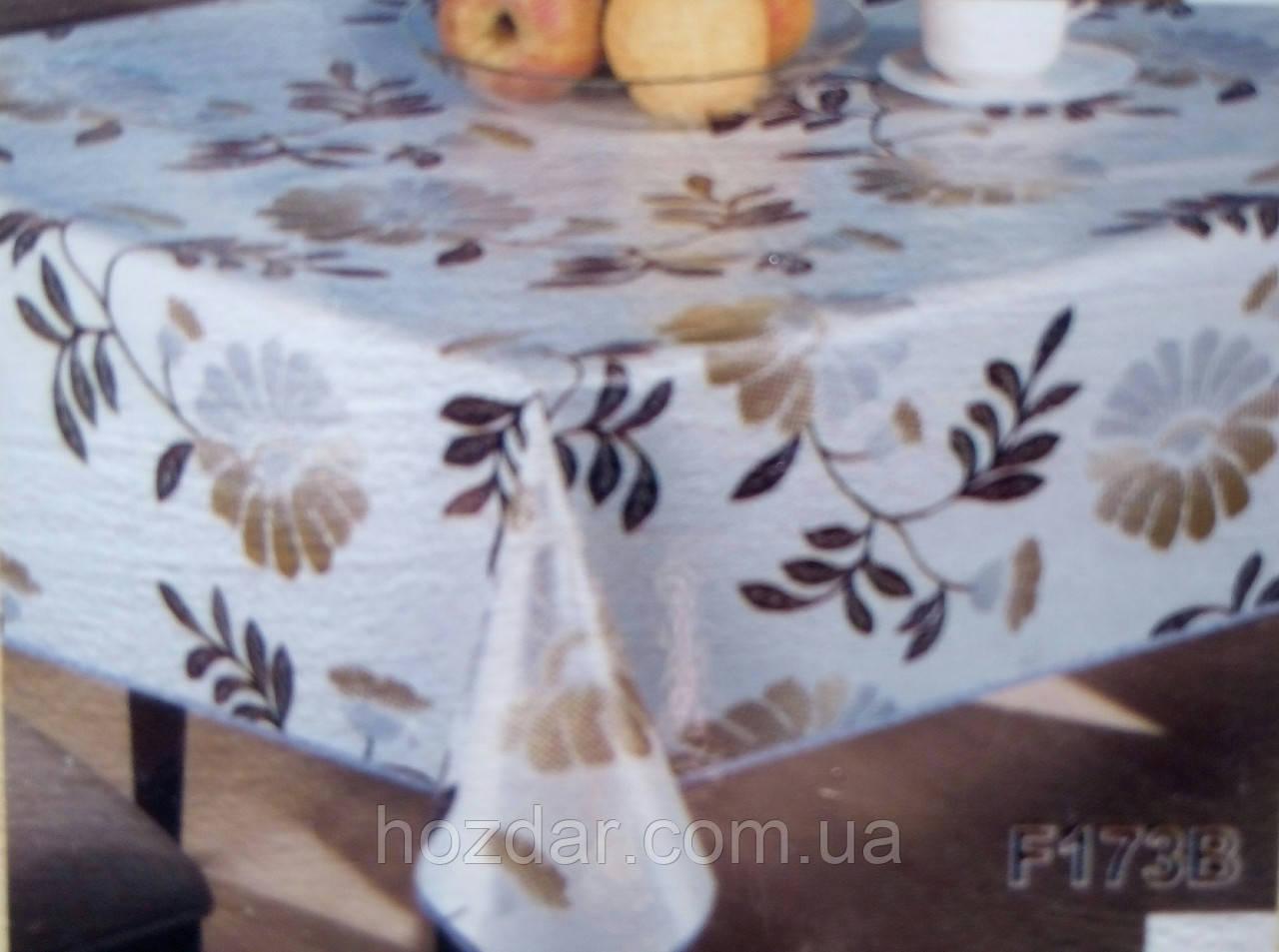 Скатертина вінілова на овальний стіл Tea Time Німеччина (T180) 152х228