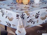Скатертина вінілова на овальний стіл Tea Time Німеччина (T180) 152х228, фото 1