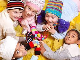 Детские шапочки весна-осень
