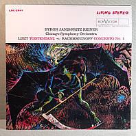 Liszt — Todtentanz • Rachmaninoff — Concerto No. 1 ~ Janis • Reiner • Chicago Symphony Orchestra
