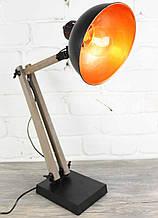 Настольная лампа прожектор в стиле лофт Модель 16