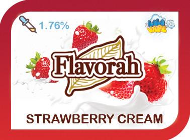 Strawberry Cream ароматизатор Flavorah (Клубничный крем)