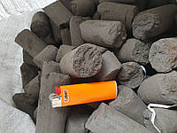 Угольно-торфяной брикет