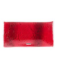 84c40f4e1cef Клатч Karya 0521-019 кожаный женский красный лаковый с тиснением
