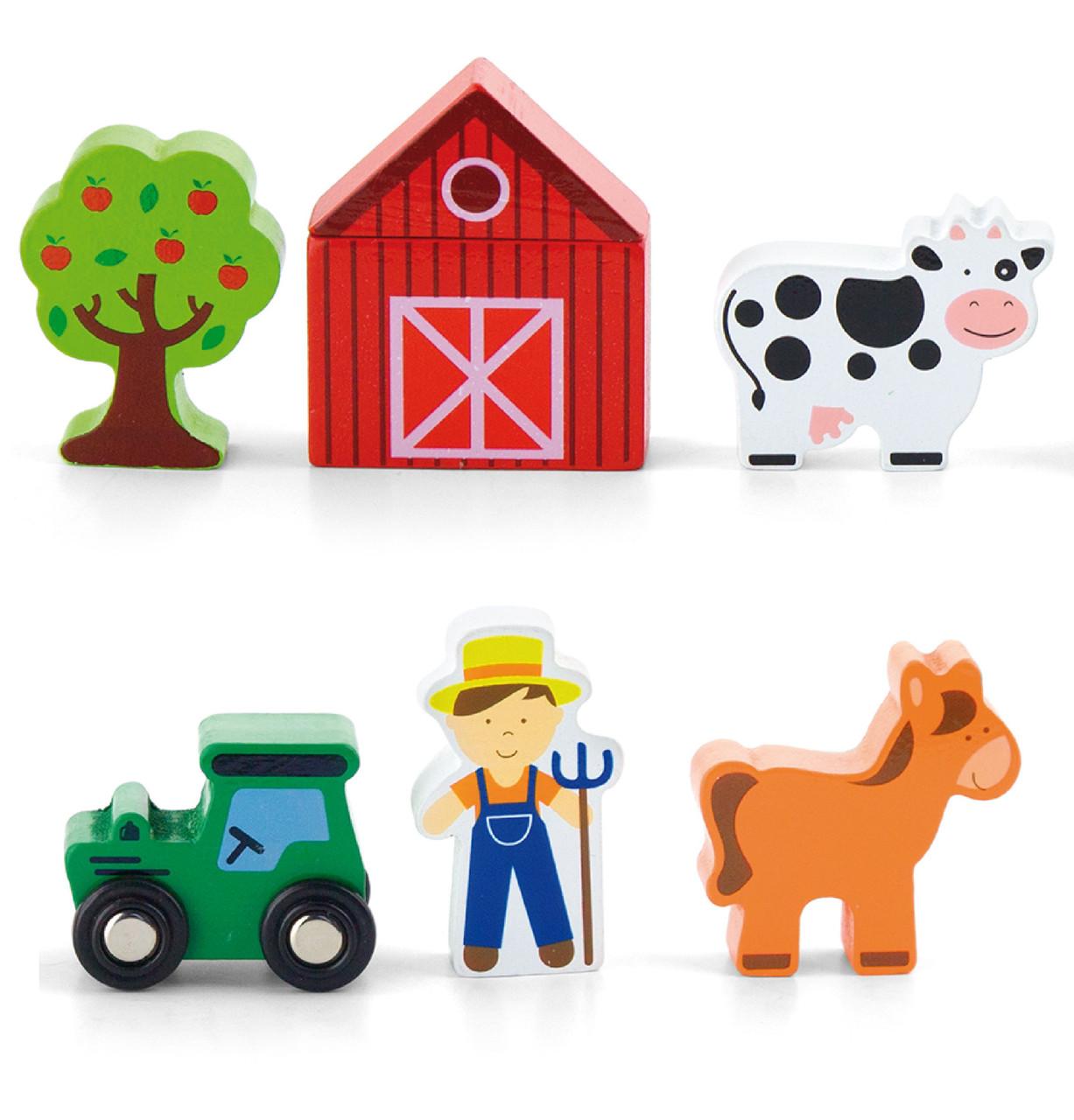 Дополнительный набор к ж/д Ферма Viga toys (50812)