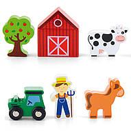 Дополнительный набор к ж/д Ферма Viga toys (50812), фото 1