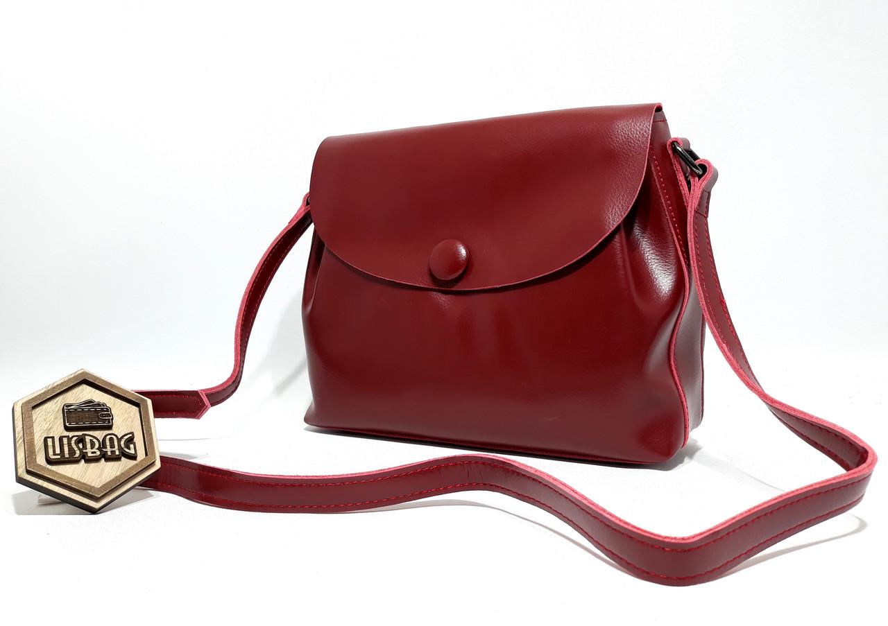 f95fb31b275e Красивая молодежная женская сумочка классического стиля из натуральной кожи  , ...