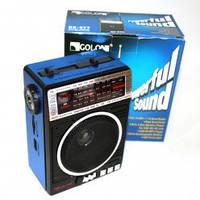 Радиоприемник колонка MP3 Golon RX-077, музыкальная портативная колонка!Опт