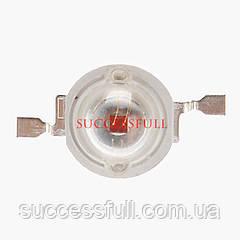 Мощный красный светодиод (Red 660) LED 3W для растений