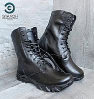 Ботинки берцы зимние кожаные DMS-2N натуральный мех, фото 1