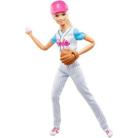 Кукла Барби йога Бейсболистка Barbie Sports Baseball Player Doll