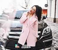 f5f66c7341f Женское стильное кашемировое пальто на пуговицах