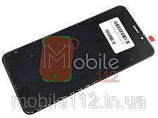 Модуль для Meizu M6S (Дисплей + тачскрин) черный ОРИГИНАЛ PRC