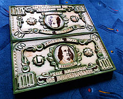 """Нарди """"100 доларів"""" зелені, фото 2"""