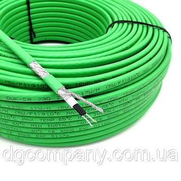 Саморегулирующийся кабель для обогрева труб, водостоков, крыш(внутренний)
