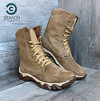 Ботинки берцы зимние нубук DMS-2, фото 1