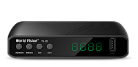 Цифровой ресивер World Vision T62D Internet, Youtube (Эфирный, DVB-T2/C, HD, Dolby Digital)