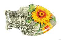"""Тарелка стеклянная """"рыба"""" Helios (6135)"""